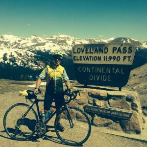 Phil Morton at Loveland Pass, looking good. Photo courtesy of Phil Morton.